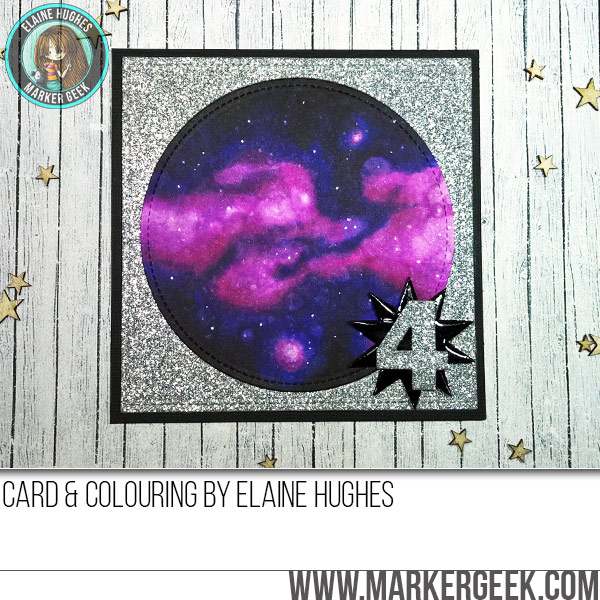 Copic Galaxy Card & Colouring Video. Click through for all the details!