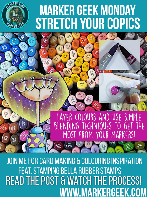 Marker Geek Monday Stretch Your Copics. Click through for the details!