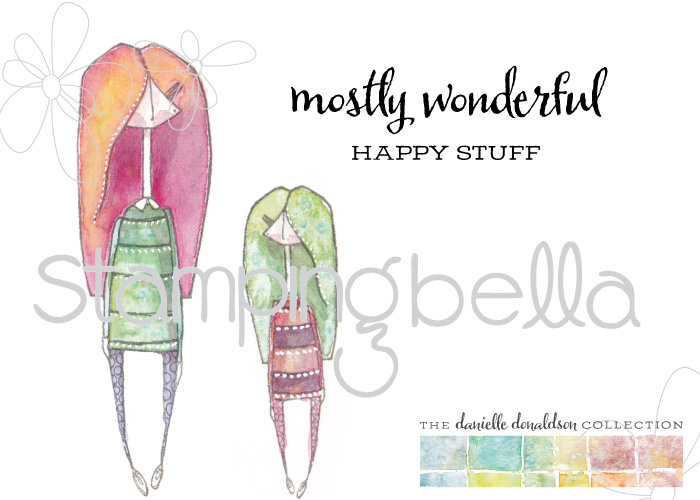 Stamping Bella January 2017 Danielle Donaldson Rubber Stamp Previews!