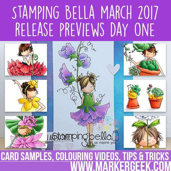 Stamping Bella March 2017 Release Previews Day One.