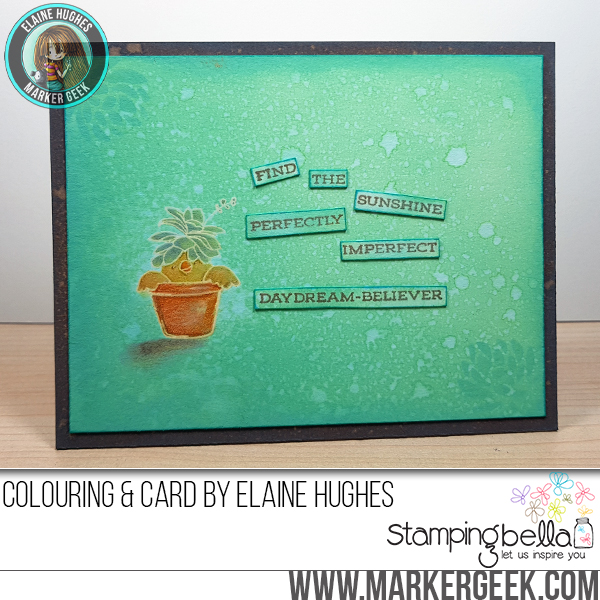 Marker Geek: Stamping Bella & Distress Oxides Cards