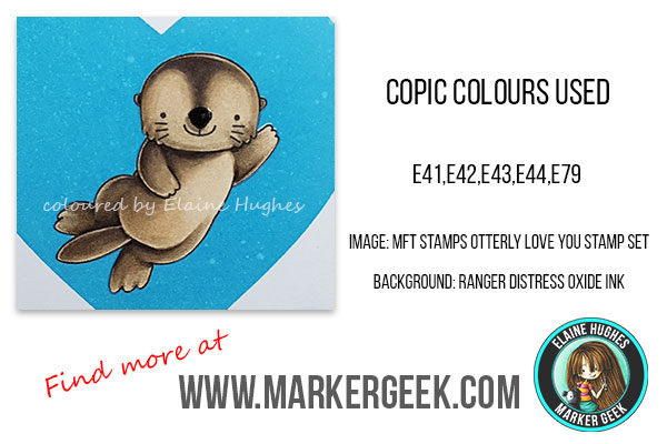 Marker Geek: Waving Hi with MFT Stamps Otterly Love You