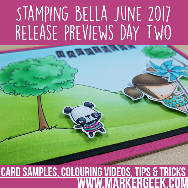 Stamping Bella Summer 2017 Release Previews Day 2 (with videos)