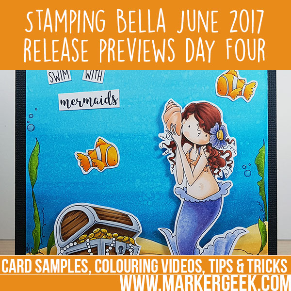 Stamping Bella Summer 2017 Release Previews Day 4 (with video)