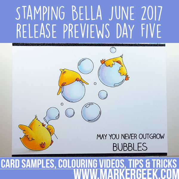 Stamping Bella Summer 2017 Release Previews Day 5 (with video)