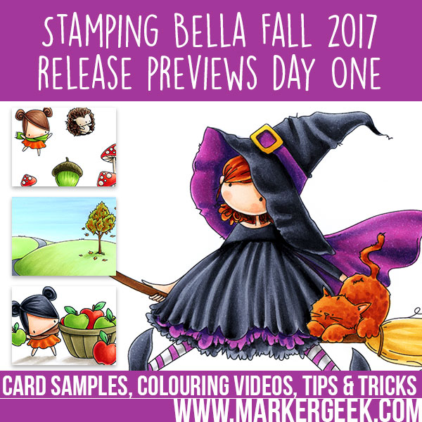 Stamping Bella Fall 2017 Release Previews Day 1 (with video)