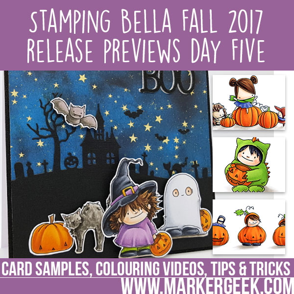 Stamping Bella Fall 2017 Release Previews Day 5 (with video)