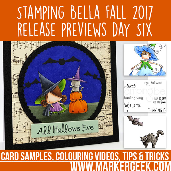 Stamping Bella Fall 2017 Release Previews Day 6 (with video)