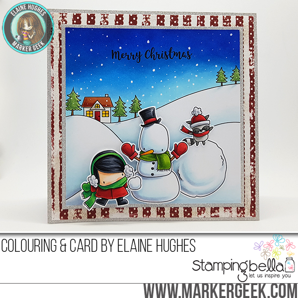 Stamping Bella Holiday 2017 Release Peeks Day 6 - www.markergeek.com