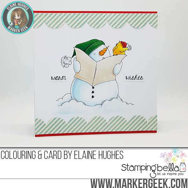 Stamping Bella Holiday 2017 Release Peeks Day 7 - www.markergeek.com