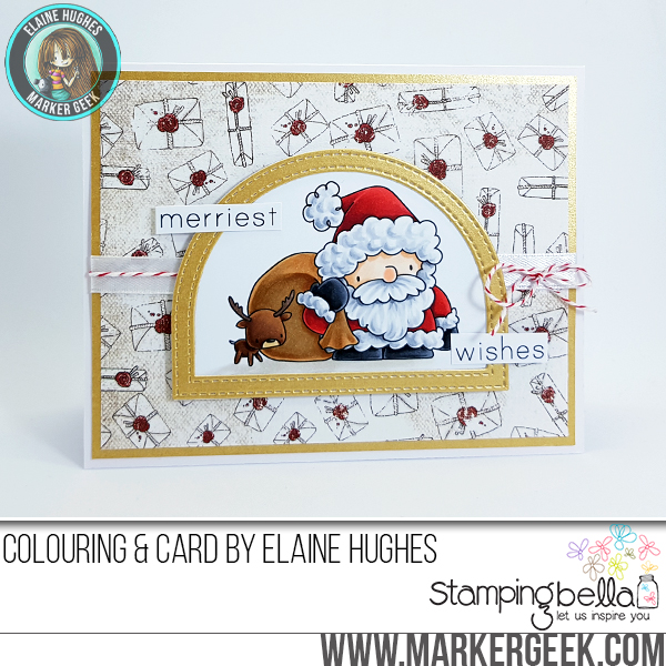 Stamping Bella Holiday 2017 Release Peeks Day 1 - www.markergeek.com
