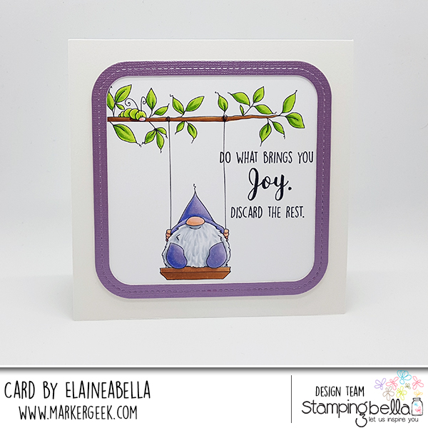 2018-03-04-stamping-bella-gnome-on-a-swing
