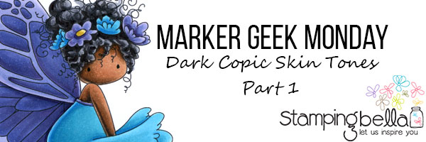 Marker Geek - Dark Copic Skin Tones Part 1