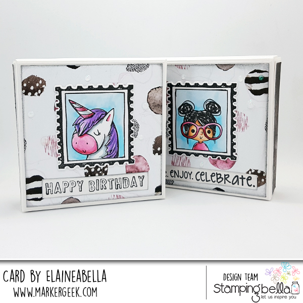 Stamping Bella Rosie & Bernie Mini Pizza Boxes with Video