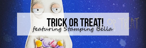 Marker Geek: Trick or Treat - A Fun Ghost Scene Featuring Stamping Bella