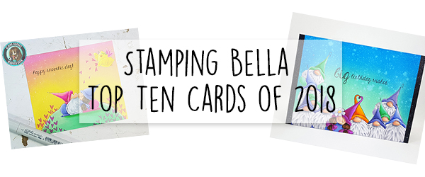 Marker Geek: Top Ten Stamping Bella Cards of 2018