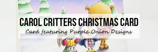 Marker Geek: Purple Onion Designs Falala Christmas Card