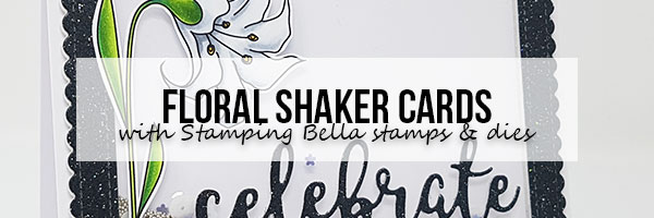 Marker Geek: Floral Shaker Cards and Copic Colouring Videos