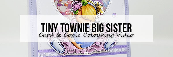 Marker Geek: Stamping Bella Tiny Townie Big Sister Card