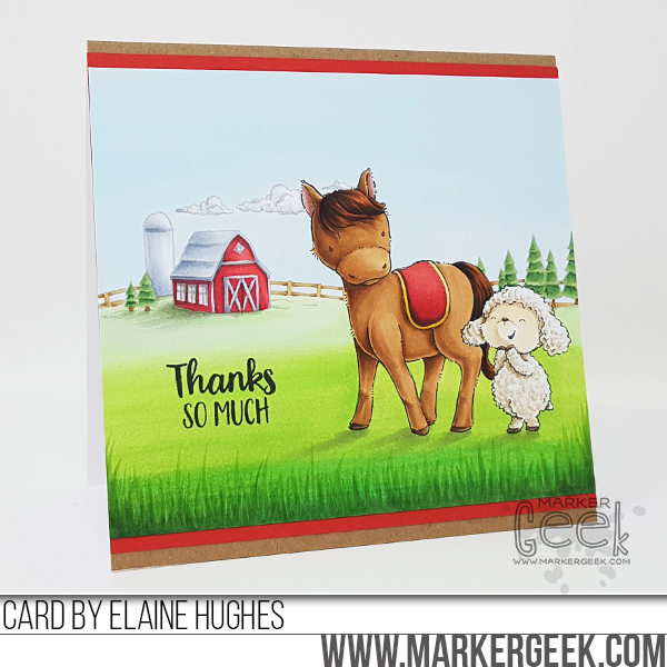 Marker Geek: Purple Onion Designs Sunny Meadow Fair Collection May 2019